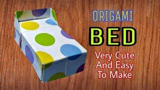 Origami Bed Very Cute And Easy To Make