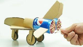 ASMR - Cool Matches Powered Cardboard Double Jet