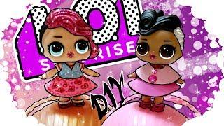 DIY LOL Surprise clothes. How to make Clothes for dolls LOL Suprises.