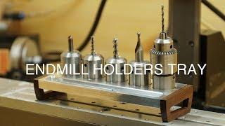 Making a Endmill Holders Tray // CNC PROJECT